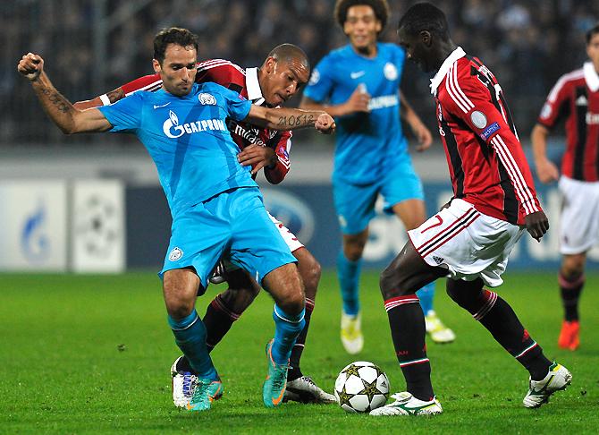 Неподходящее время. Как «Зенит» проиграл «Милану»