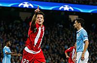 Коноплянка забивает «Манчестер Сити»