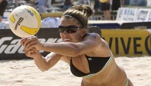 Олимпийский проспект. Пляжный волейбол