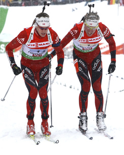 Биатлонный атлас. Норвегия
