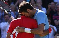 Федерер – дель Потро и еще 6 теннисных рукопожатий, которые нельзя пропустить