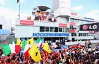 Бодание быков и коней. Лучшие кадры Гран-при Германии