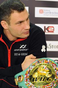 Виталий Кличко: «Волновался, что могу получить травму перед боем с Гомесом»