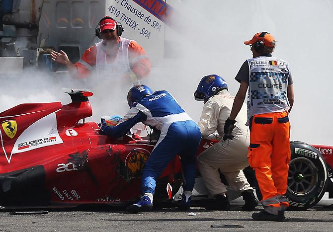 5 самых быстрых аварий в «Формуле-1»