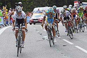 «Тур де Франс». Альпы. Восхождение на Коль де ля Мадлен. Хроника событий