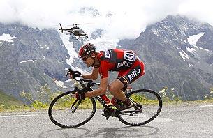 «Тур де Франс». Гонка с раздельным стартом. Хроника событий