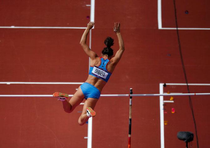5 причин, почему Исинбаева может проиграть Олимпиаду