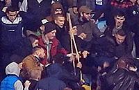 Видео еще одного избиения на матче «Динамо» Киев – «Челси»