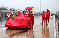 10 последних случаев вмешательства дождя в проведение Гран-при «Формулы-1»