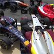 Авария дня. Происшествие с четырьмя болидами в гонке GP2