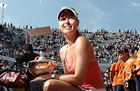 11 побед Марии Шараповой на грунте