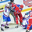 Видеоарбитр отменяет шайбу Радулова в ворота СКА