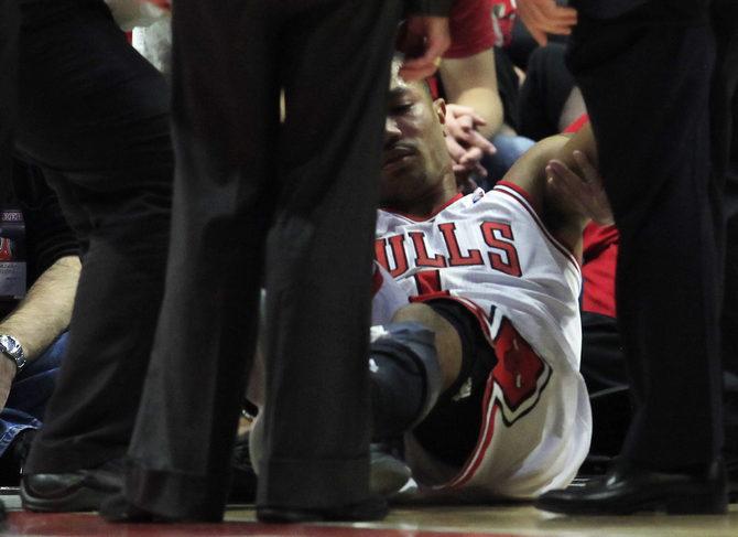 Деррик Роуз и еще 13 судьбоносных травм в плей-офф НБА
