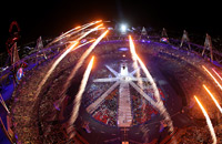Лондон-2012. Церемония закрытия. Фотохроника