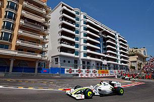 Гран-при Монако: Хроника гонки