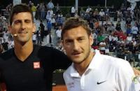 Теннис со звездами. Футболисты «Ромы» на римском «Мастерсе»