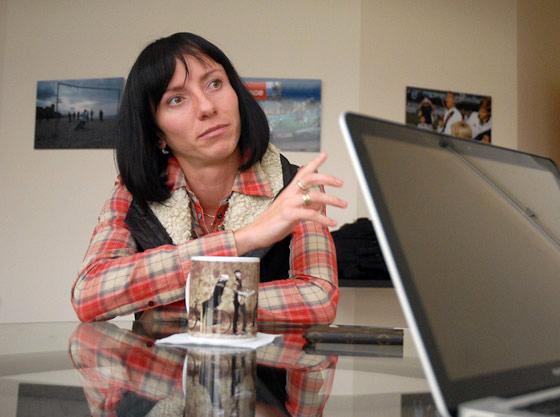 Мария Савинова: «С мужем познакомилась по ICQ»