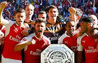 Как «Арсенал» празднует первый трофей сезона