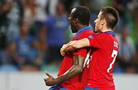 Первый гол Думбия после возвращения в ЦСКА