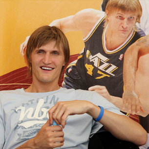 Andrey Kirilenko: I've stolen one of my trophies