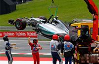 Цирк дня. Хэмилтон и Росберг вылетают в квалификации к Гран-при Австрии
