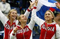 Все победы сборной России в Кубке Федерации