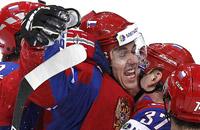 Россия победила Финляндию в полуфинале ЧМ. Фотогалерея