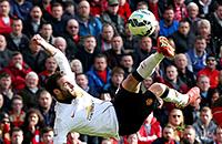 10 лучших голов сезона в Англии
