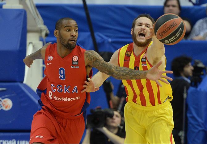 Баскетбол Барселона Цска