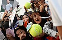 Как в Китае встречают теннис