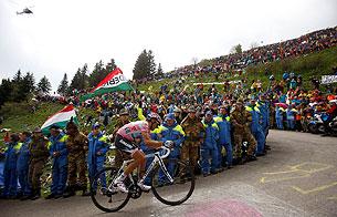 «Джиро». Восхождения на Пассо ди Джау и Мармоладу. Хроника событий