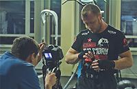 Как Александр Шлеменко снимался в клипе российского рэпера