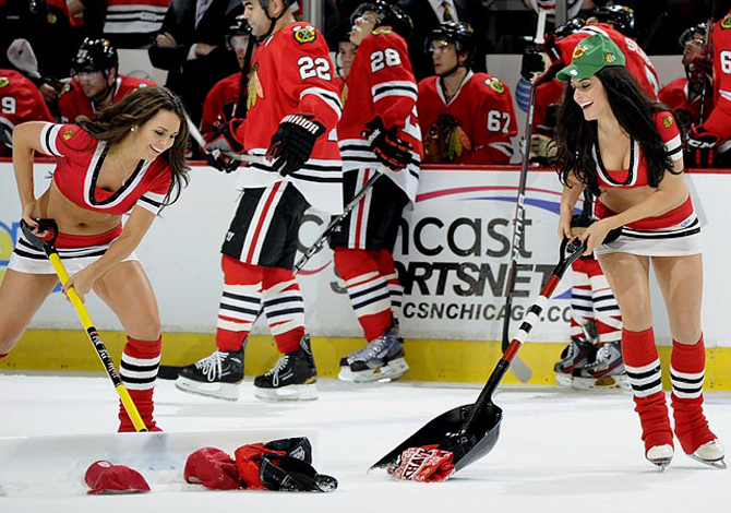 10 самых посещаемых арен НХЛ