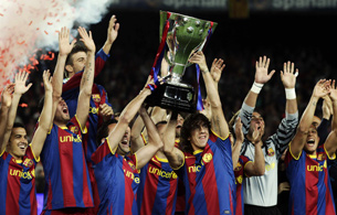Парад чемпионов. «Барселона»