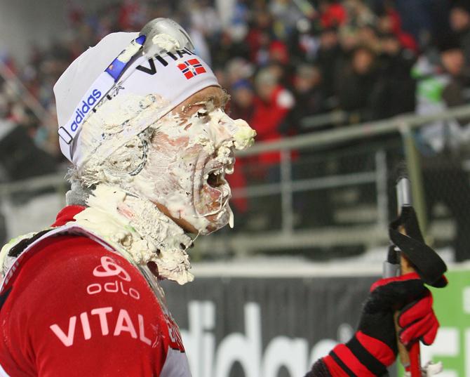 Доля шутки. Как еще веселятся норвежские биатлонисты