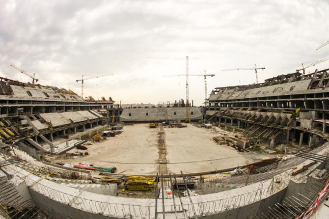 Почему стадион «Зенита» до сих пор не построен?