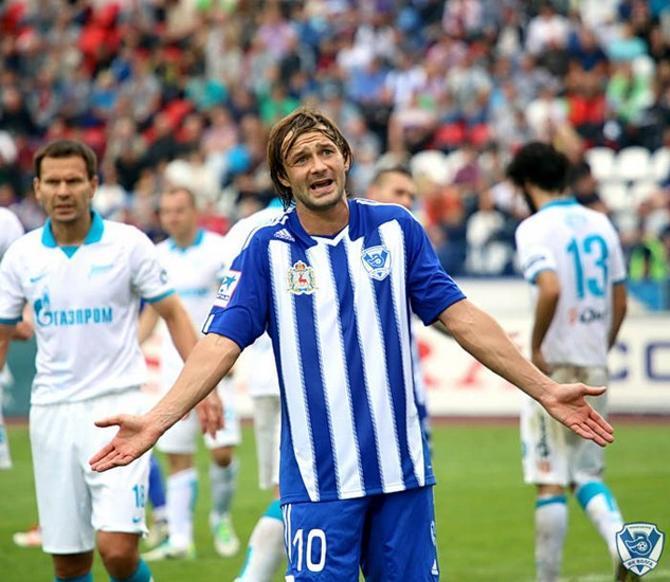 Дмитрий Сычев получает в «Волге» больше всех, но по-прежнему не забивает