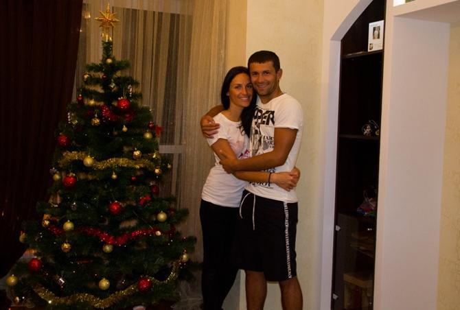 Сергей Кисляк и его Юля хотят, чтобы в Новом году все были счастливы