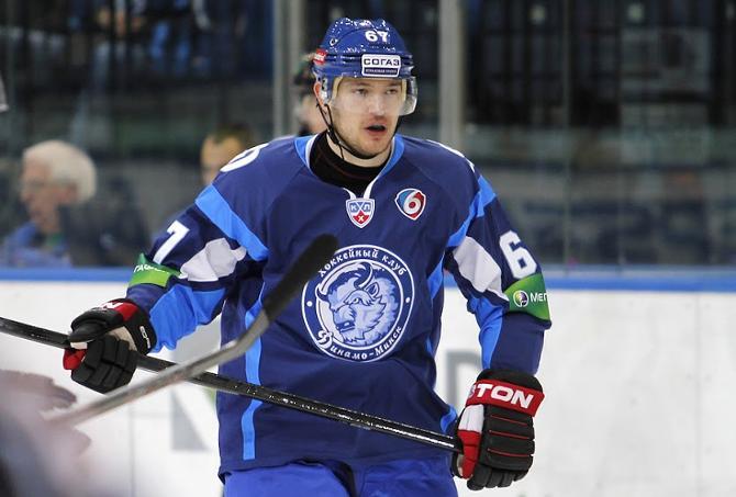 Иван Усенко отличился в первом же матче за минское «Динамо»