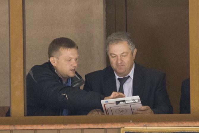 Поход Дмитрия Кравченко в VIP-ложу к губернатору Семену Шапиро прямо во время матча «Немана» удивлял многих
