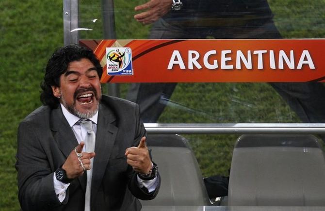 Диего Марадоне пока есть чему радоваться.