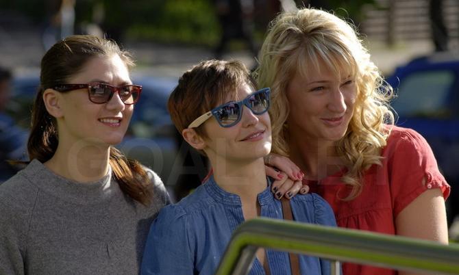 Наталье Трофимовой и Марине Кресс теперь придется обходиться без Натальи Марченко (в центре)