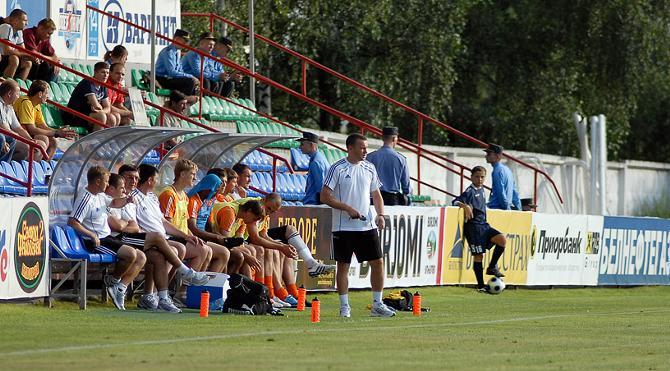 Владимир Журавель ведет команду к победе