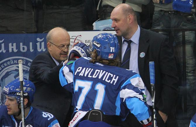 Александр Павлович открыл счет своим голам в КХЛ.