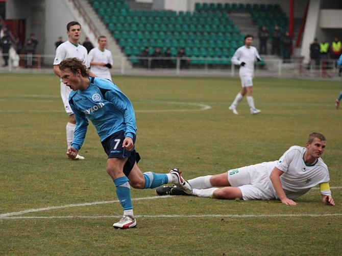 Один из самых красивейших голов Александра Быченка не помог его команде добиться победы