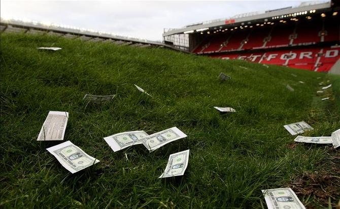 Европейские гранды умеют устраивать на матчах денежный дождь.