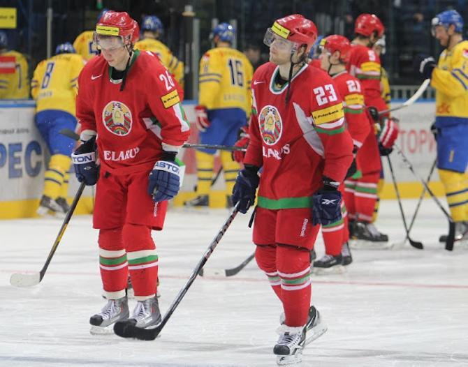 Белорусы вновь покидали площадку не в самом лучшем расположении духа.