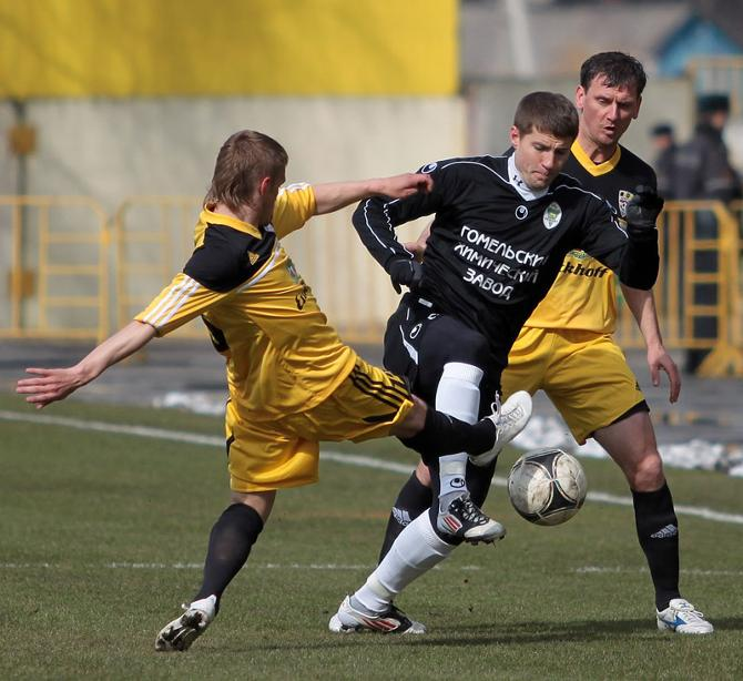 Вячеслав Глеб забил третий мяч в четырех матчах за