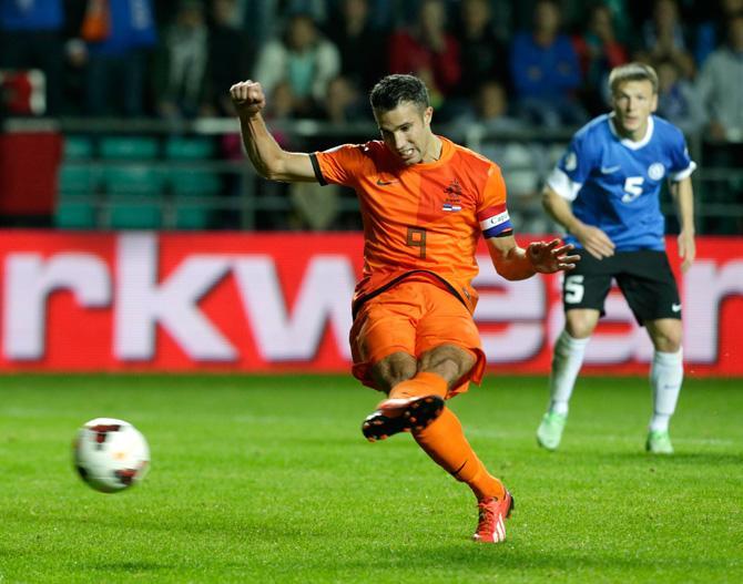 Робин ван Перси и сборная Голландии уже отобрались на чемпионат мира.