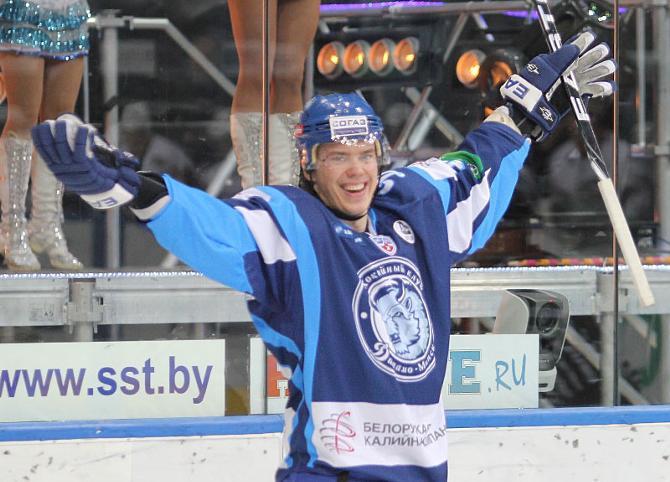 Андрей Стась побил рекорд собственной результативности в сезоне!